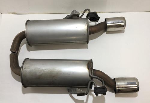 2008-2014 Mini Cooper S R55 Clubman Exhaust Muffler Tips / Pair / R2011