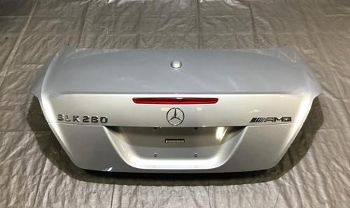 2005-2011 Mercedes Benz SLK 350 R171 Rear Trunk Lid / Iridium Silver / SK205