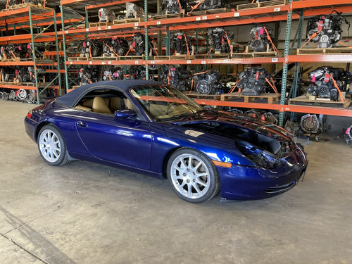 1999 Porsche 996 911 Carrera 4 Cabriolet New Parts Car P6010 (Sep 2020)