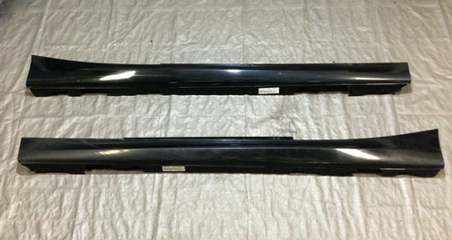 2014-2020 BMW M235i M240i Coupe Side Skirts / Black Sapphire / Pair / B2001