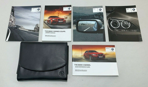 2014 BMW M235i Coupe Owner's Manual w/ Case / B2001