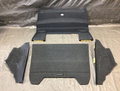 2001-2006 Audi TT Quattro Rear Trunk Carpet Set / OEM / T1011