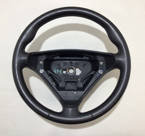 2005-2008 Mercedes Benz SLK 350 280 R171 Black Leather Steering Wheel SK206