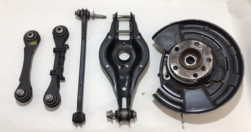 2014-2020 BMW 2 Series Passenger Rear Knee / Spindle / Control Arms / 85k / B2002