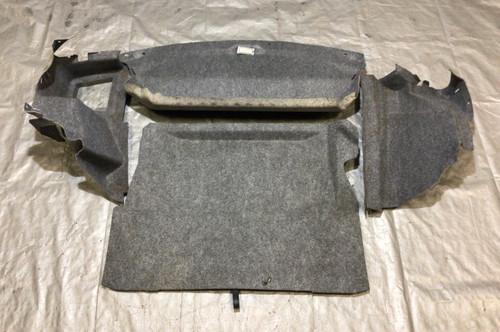 1996-2002 BMW Z3 Roadster Trunk Carpet Set / Grey / OEM / Soft Top / Z3015