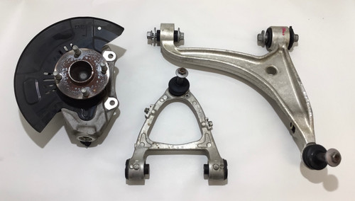 2017-2020 Fiat 124 Spider Driver Side Front Knee / Control Arms / Spindle / 45k / FD007