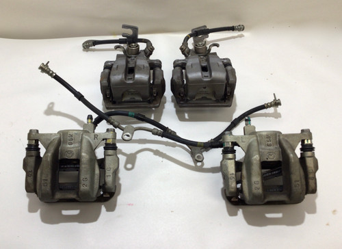 2017-2019 Fiat 124 Spider Brake Calipers Set of 4 / Front & Rear / 45k / FD007