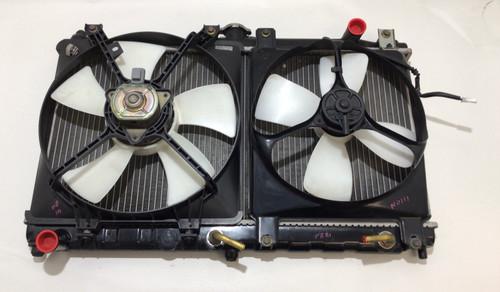 1999-2005 Mazda Miata Radiator w/ Cooling Fans / Automatic /  NB111