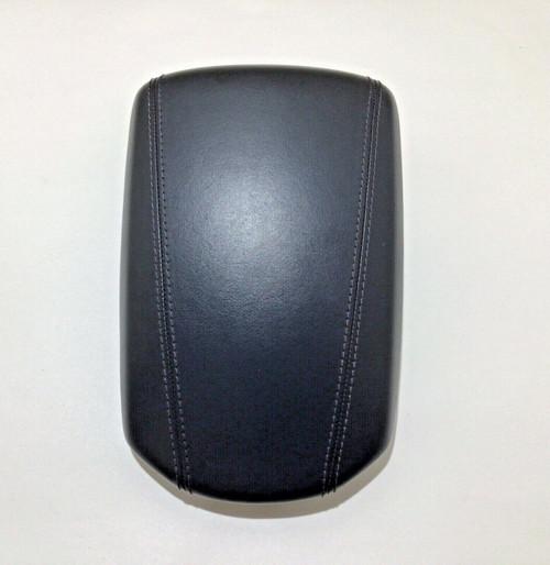 2013-2016 Hyundai Genesis Coupe Black Leather Center Console Lid / OEM / HG013