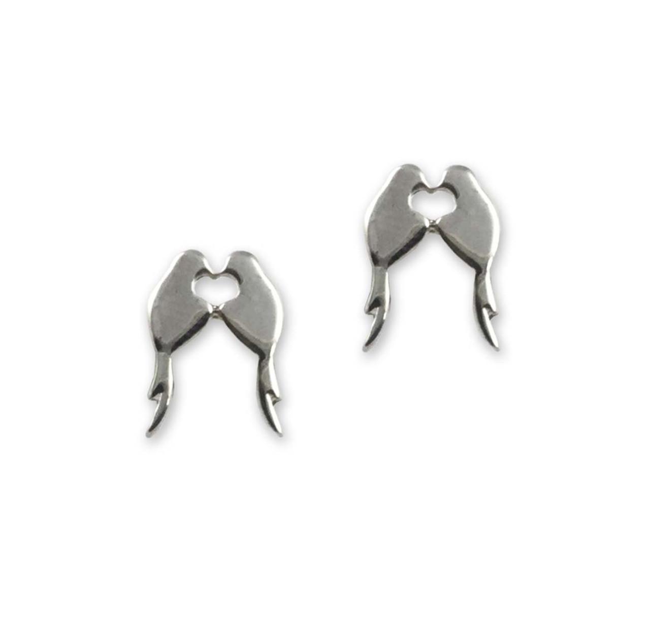 058e0e612 Sterling Silver Lovey Dovey Earrings - JH Breakell & Co.