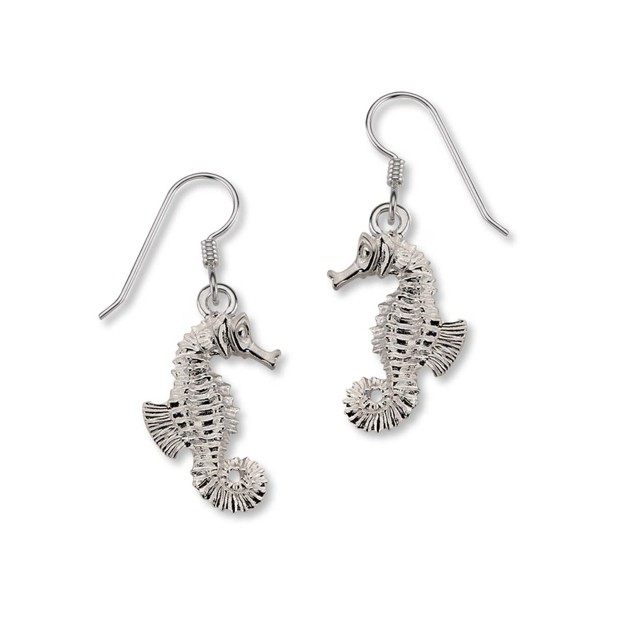 046e41b92 Browse Stylish Designs of Sterling Silver Seahorse Earrings