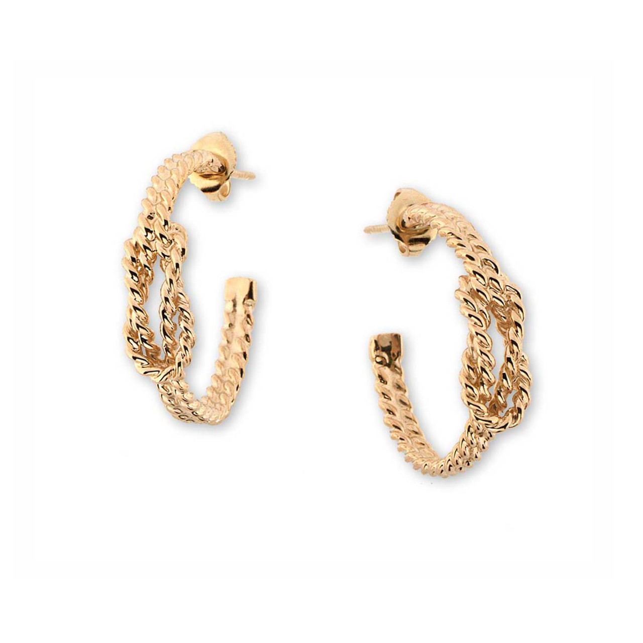 d724e7414 Shop Classic Collection Of Square Knot Earrings