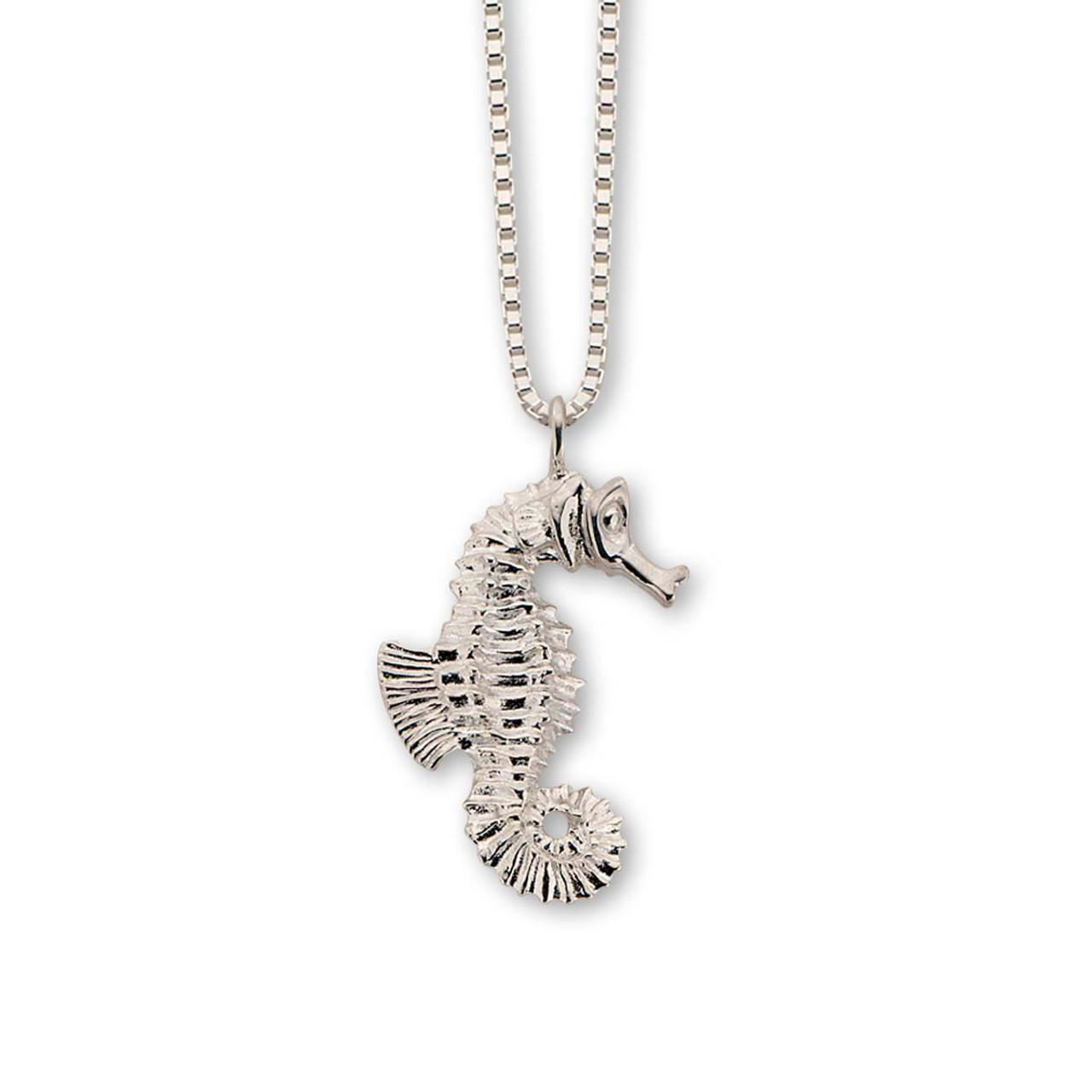 9905c944a Buy Fantastic Sterling Silver Seahorse Pendant