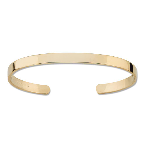 Classic Piece of 14kt Slender Cuff