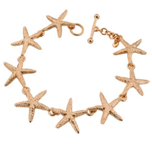 14kt Sea Star Bracelet