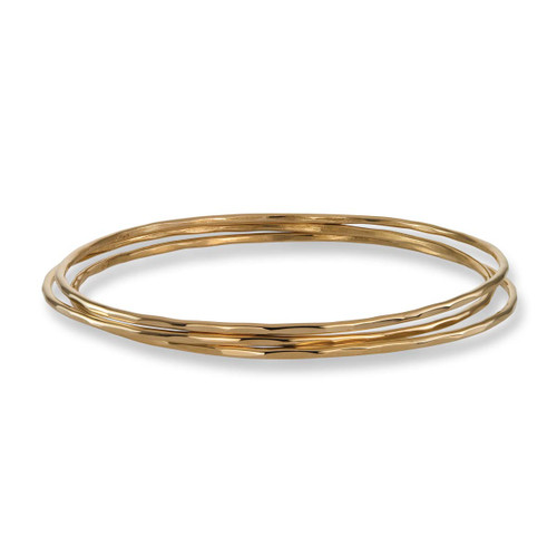 14kt Affection Bangles - Set of 3