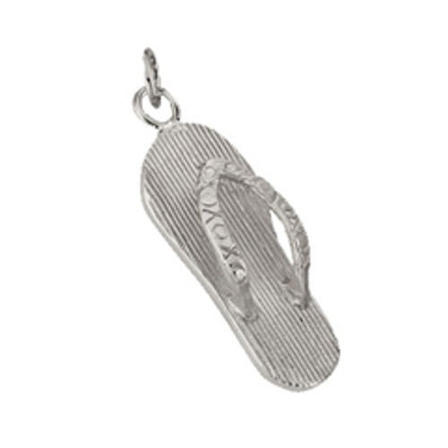 Sterling Silver Flip Flop Charm