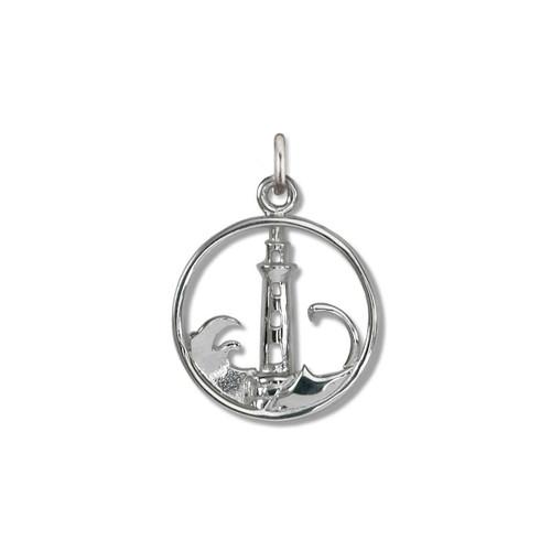 Sterling Silver Lighthouse Charm symbolize Safety
