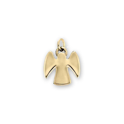 14kt Gold Angel Charm with beautiful wings