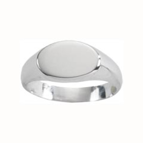 Sterling Silver Perfect Small Signet Ring