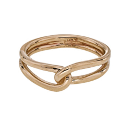 14kt Entwined Ring to Express Love & Friendship