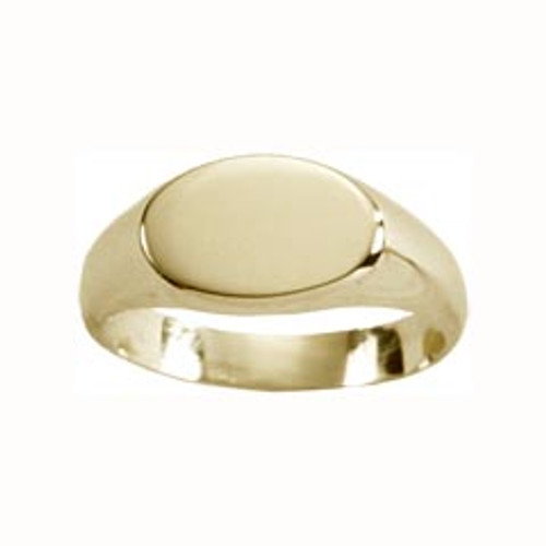 14kt Small Signet Ring