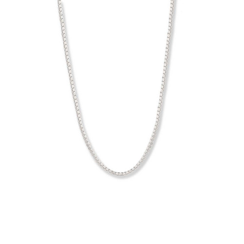 Sterling Silver Heavy Box Chain, 1.2mm,