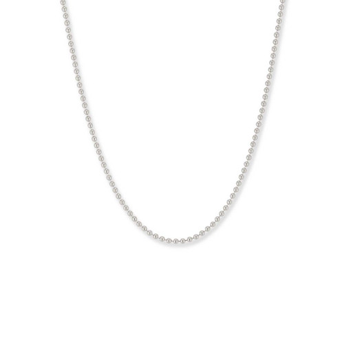 Sterling Silver Bead Chain, 1.5mm,