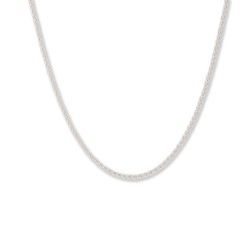 Sterling Silver Spiga Chain, 1.5 mm,