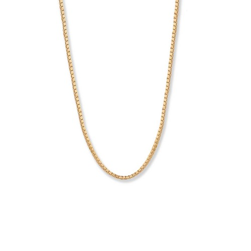 14kt Gold Heavy Spring ring Chain, 1.2mm,