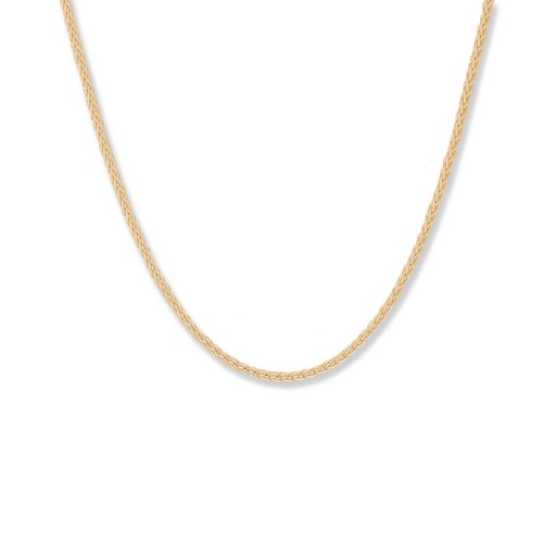 14kt Gold Lobster Claw Closure, 1.5 mm, Spiga Chain