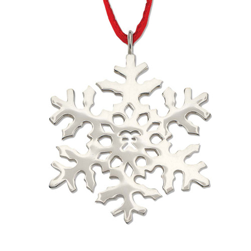 2000 Sterling Snowflake Ornament