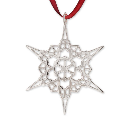 Sterling Silver 2011 Snowflake Ornament