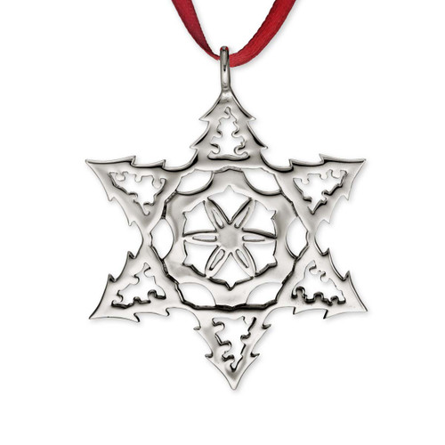 Sterling Silver 2015 Snowflake Ornament