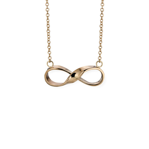 14kt Infinity Necklace symbol of forever
