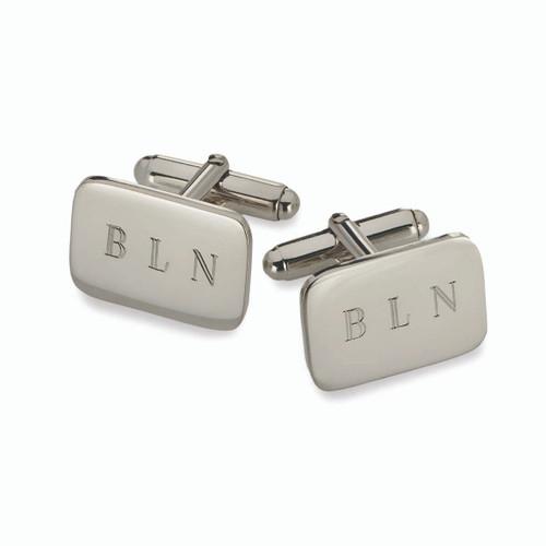 Sterling Silver Essential Cuff Links