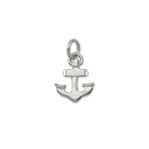 Sterling Silver Achor Charm Symbolizes Hope & Strength