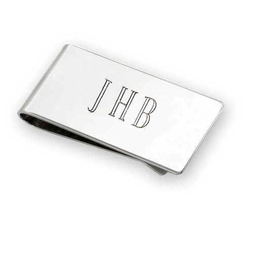 Sterling Silver Classic Money Clip