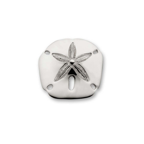 Sterling Silver Sand Dollar & Coins Pin
