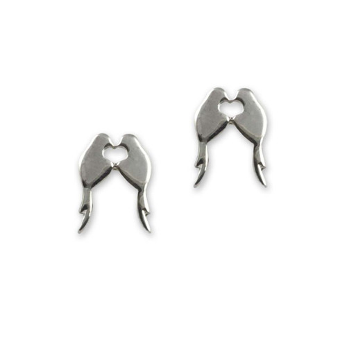 Sterling Silver Lovey Dovey Earrings