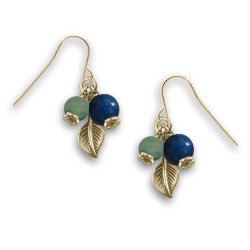 14kt Gold Blueberry Hill Earrings