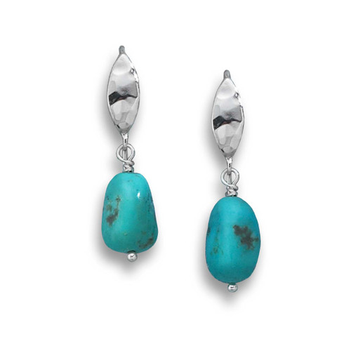 Sterling Silver Sonora Turquoise Earrings