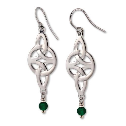 Classic Sterling Silver Misty Isle Earrings