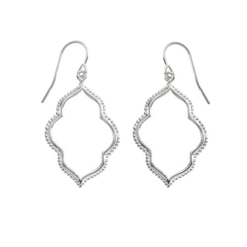 Sterling Silver Maroc Earrings adds a Bohemian touch to wardrobe