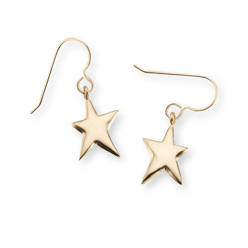 14kt Shining Star Earrings for your Life's Shining Star