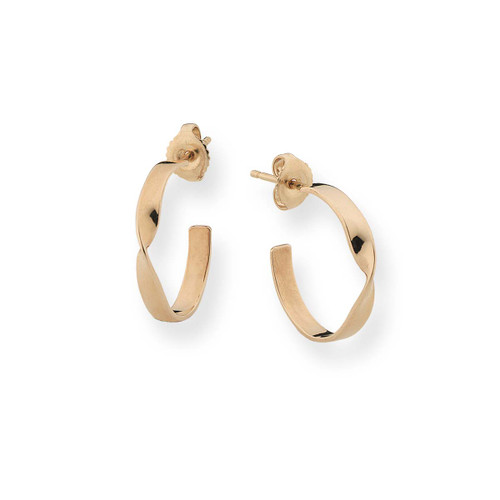 Gracefully Designed14kt Infinity Earrings
