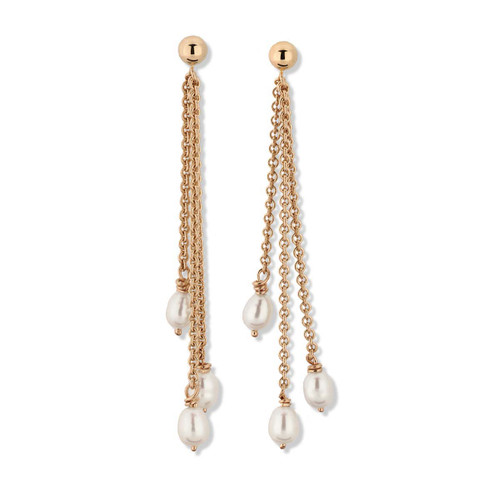 14kt Raindrop Post Earrings Symbolize Summer Shower
