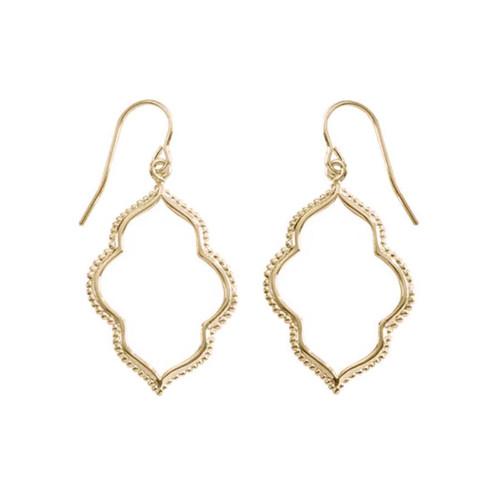 14kt Gold Maroc Earrings for a Bohemian Touch