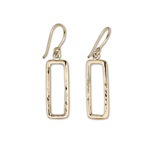 14kt Geo geometrically-shaped Earrings