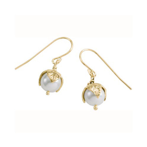 14kt Freshwater Pearl Bud Earrings